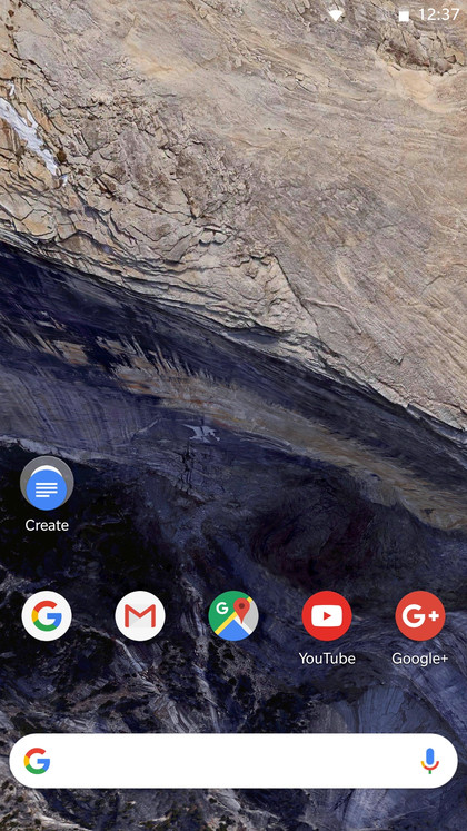 Final Pixel 2 launcher result