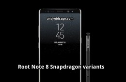 How to Root Samsung Galaxy Note 8 snapdragon variants