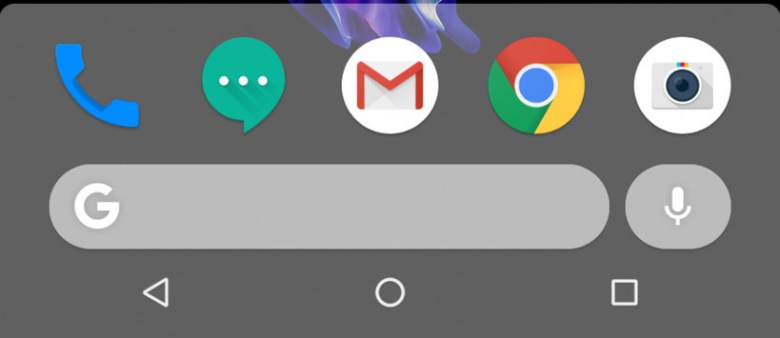 New Bottom Search Bar on Google Pixel 3