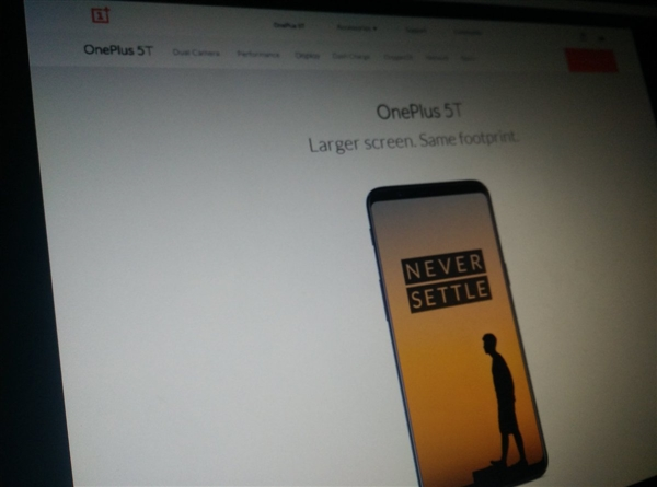 See the leaked photos of OnePlus 5T