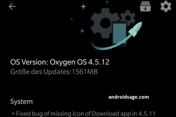 Oxygen OS 4.5.12 for OnePlus 5 Download OTA updates
