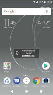 Sony Xperia XZ Premium 47.1.A.3.254 Oreo update screenshot1