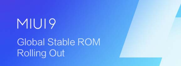 MIUI v9.0.3 Global Stable ROM
