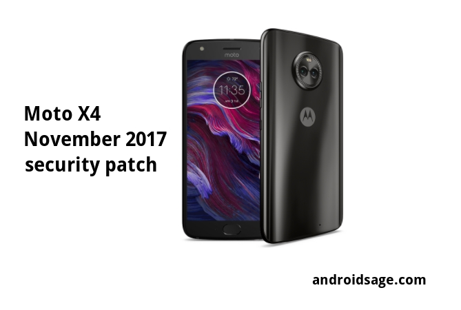 Download and install Moto X4 OTA update and Factory images NPW26.7