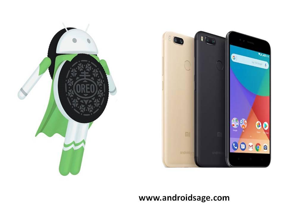 Android 8.0 Oreo for Xiaomi Mi A1