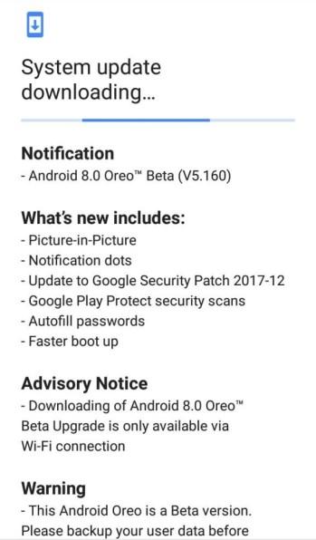 Android 8.0 Oreo Beta for Nokia 5