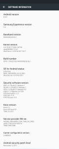 Samsung Galaxy Note 8 Android 8.0 Oreo update screenshot2