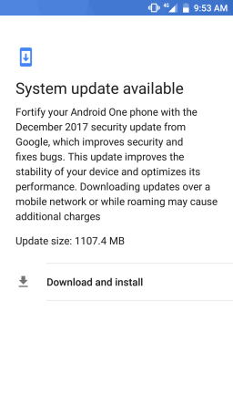 Android 8.0 Oreo for Xiaomi Mi A1