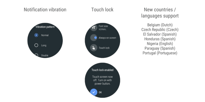 Oreo for Android Wear 2.0