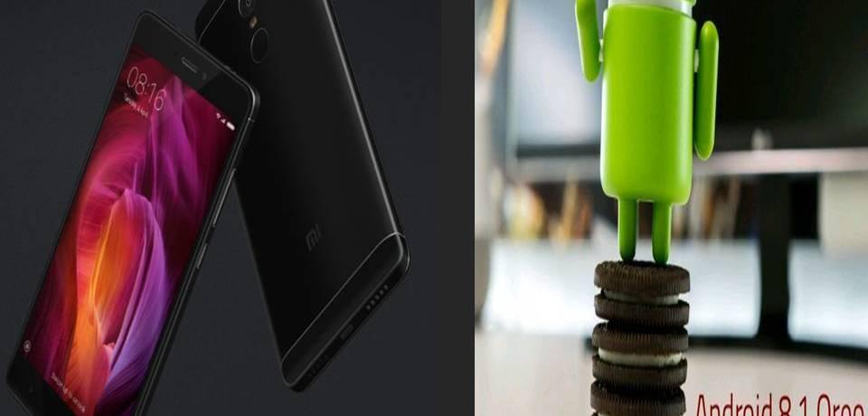 Android 8.1 Oreo for Xiaomi Redmi Note4