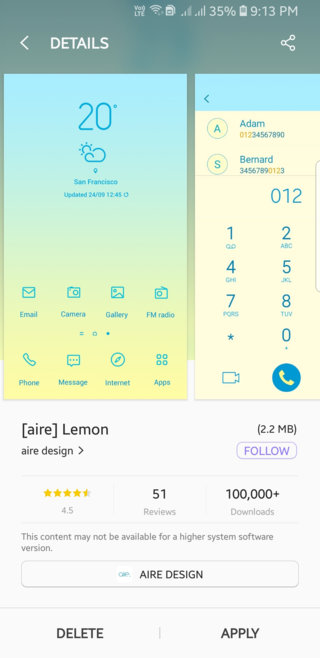 Best Samsung Themes For 2018 Free Collection