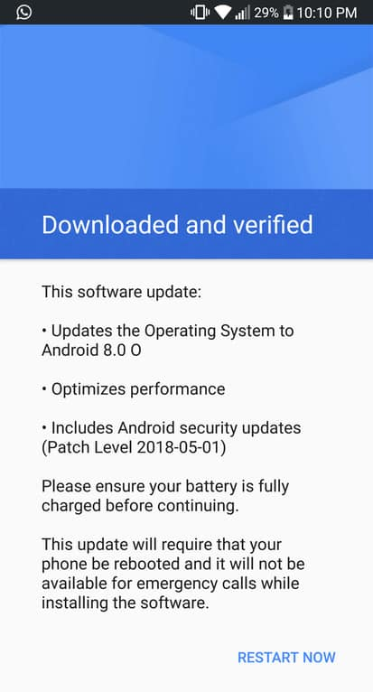 Download LG G6 Android 8.0 Oreo KDZ for Open Europe