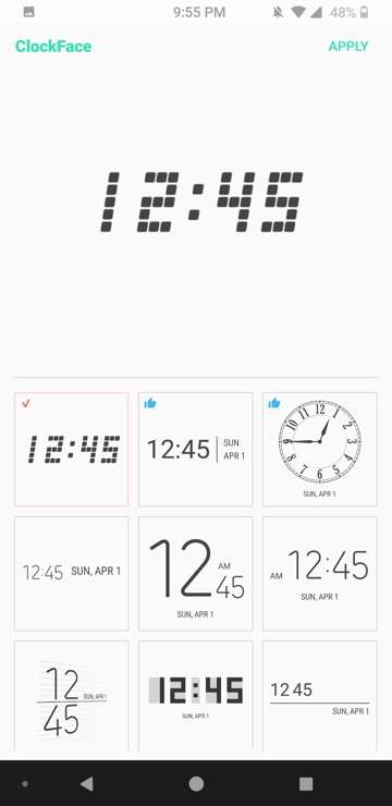 New Good Lock addon - Clock Face with more AOD and Lock Screen clock designs