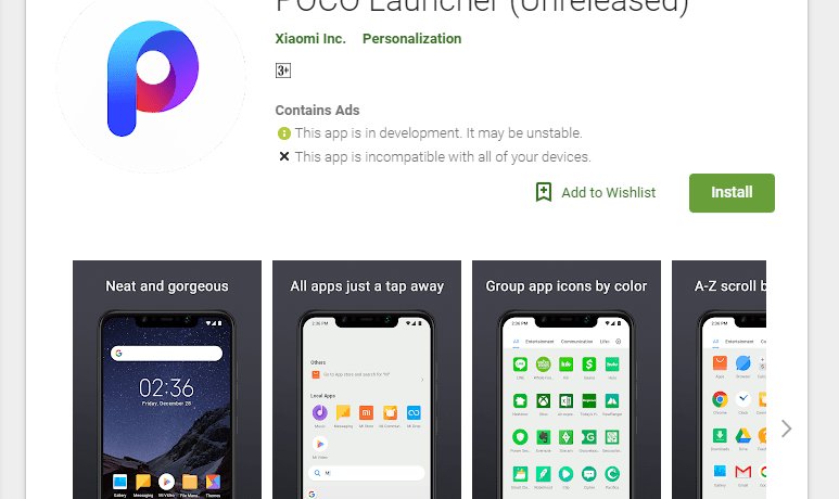 POCO Launcher - Apps on Google Play