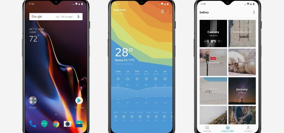 Download OnePlus 6T Launcher APK with new Gestures and Oxygen OS UI