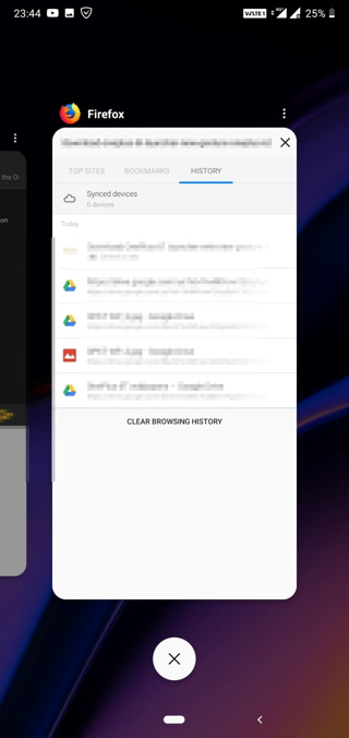 OnePlus 6T Launcher with new gestures Screenshot