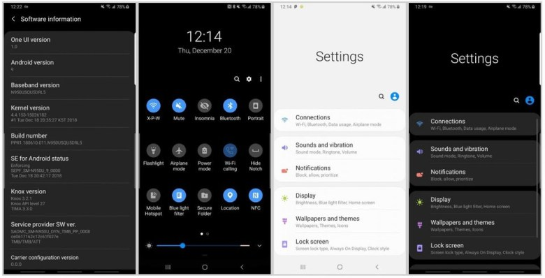 Download Android 9 Pie One UI Beta for Snapdragon Galaxy S8 and S8 Plus