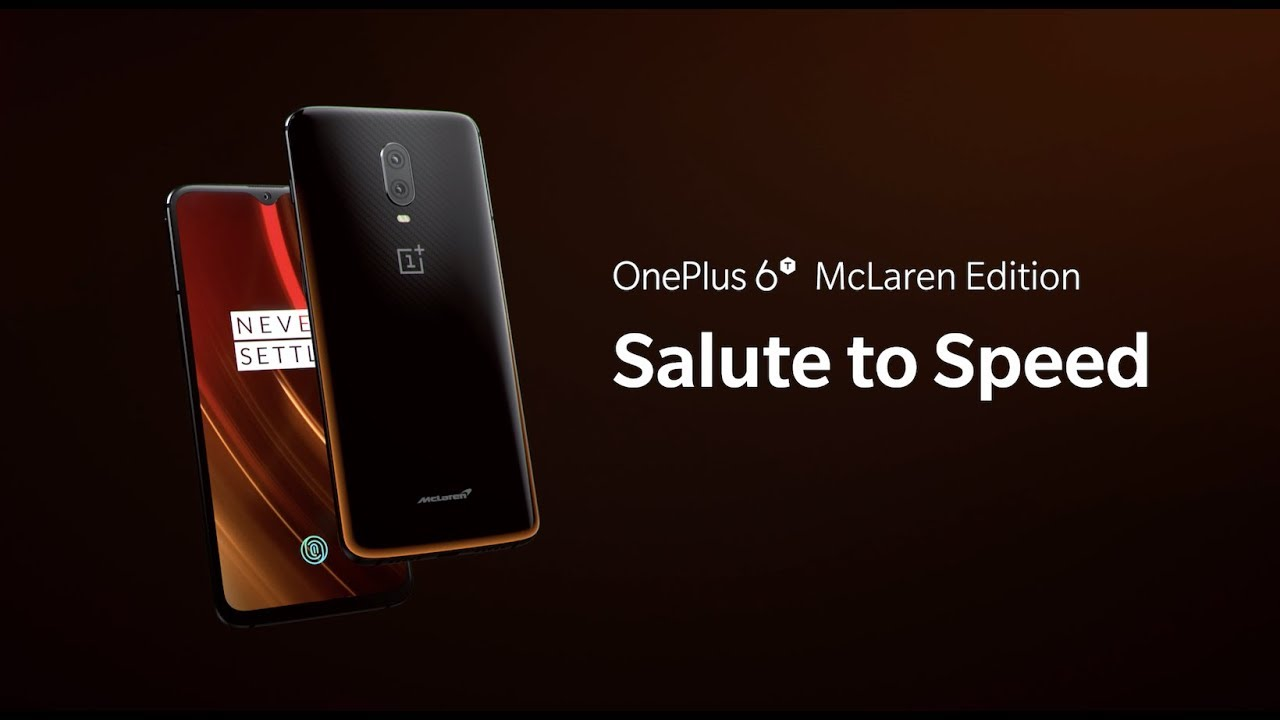 Download OnePlus 6T McLaren Edition Stock Wallpapers and Ringtones