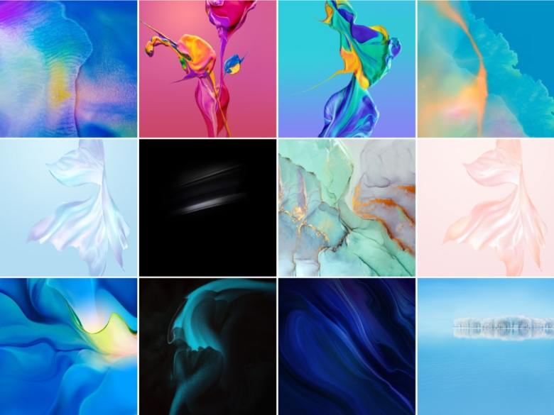 Downloading Huawei P30 and P30 Pro wallpapers-min