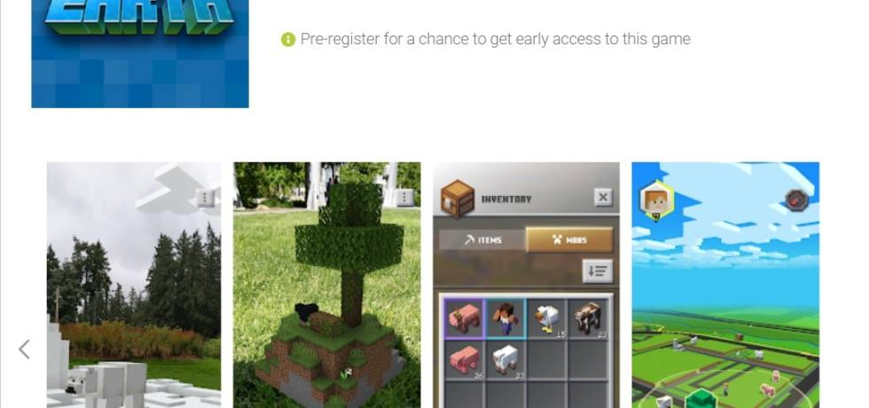 Minecraft Earth APK download - Apps on Google Play Store