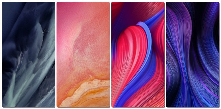 MIUI 11 wallpapers homescreen