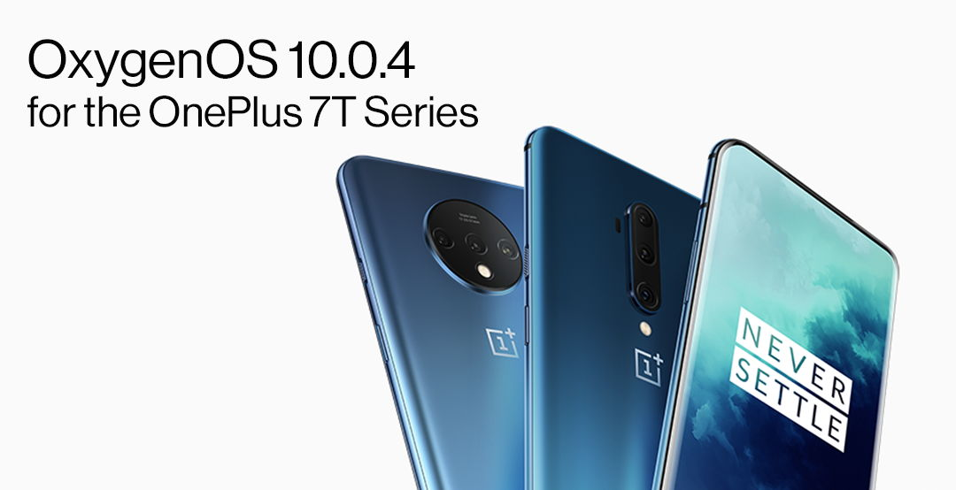 Download Oxygen OS 10.0.4 for OnePlus 7T and 7T Pro