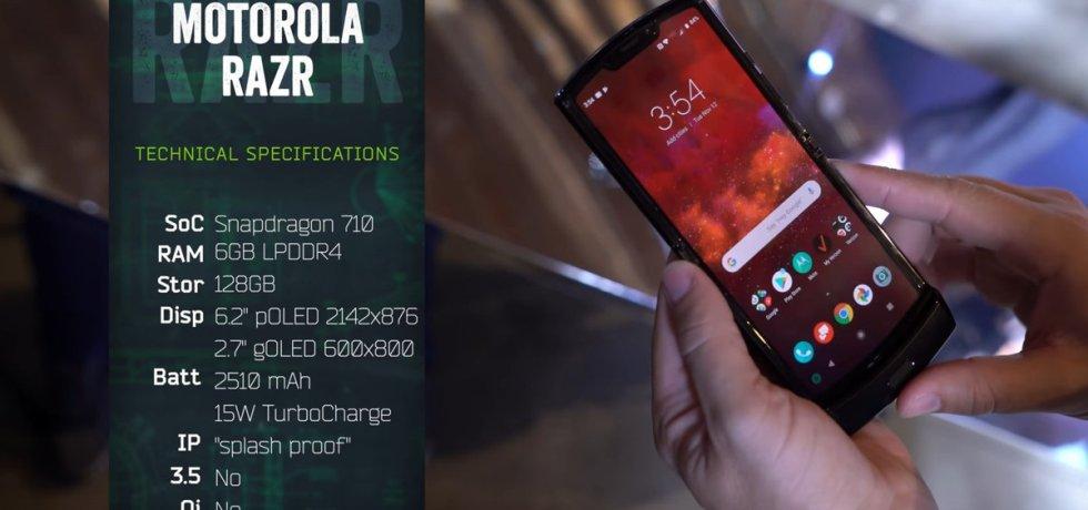 Motorola Razr 2019 Folding Phone wallpaper