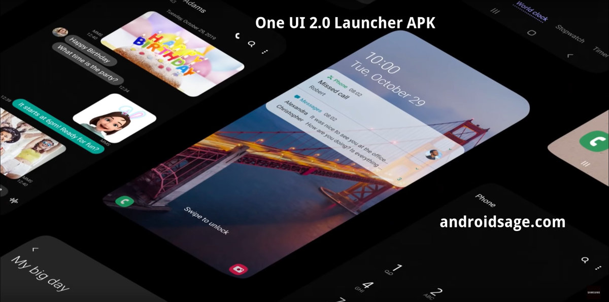 Install One Ui 2 Launcher From Samsung S Android 10 Update Oneui 2 0 Launcher Apk Download