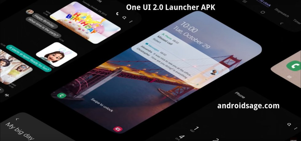 One UI 2 Launcher APK