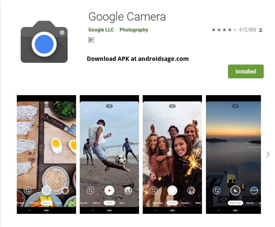 Download Gcam 7 3 Apk Port From Pixel 4 For All Android Devices Google Camera 7 3 Apk Mod
