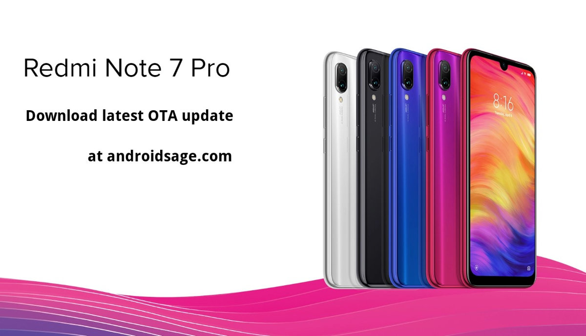 Download latest MIUI 11 update for Xiaomi Redmi Note 7 Pro global stable ROM
