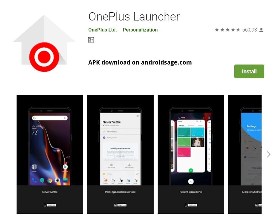 Download latest OnePlus Launcher APK