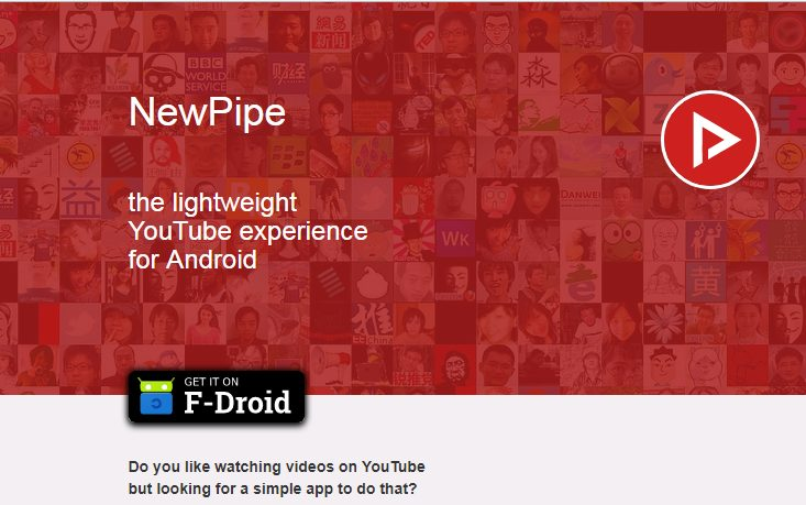 Download latest NewPipe APK to still watch Youtube videos in high resolution