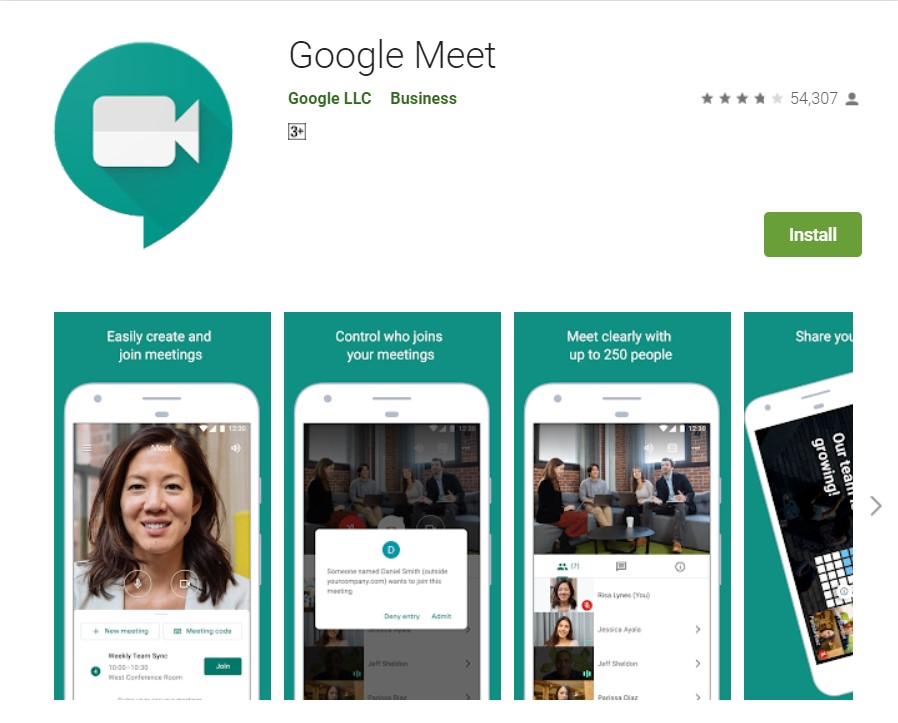 Google Meet - Apps on Google Play