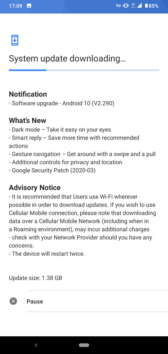 nokia 4.2 gets android 10 update