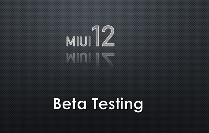 MIUI 12 Global Beta testing of the ROM has started