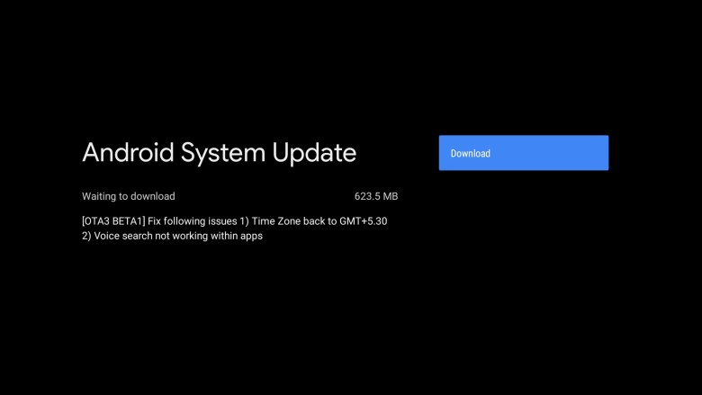 Mo Box S or 4K OTA 3 Beta 1 ota update