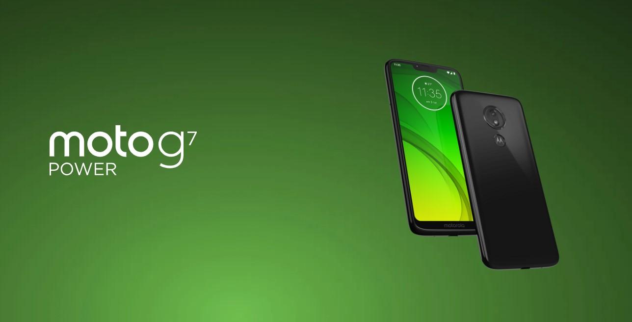Moto G7 Power stable Android 10 OTA update