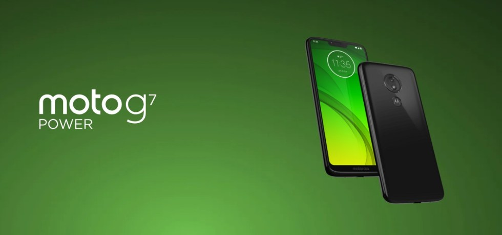 Moto G7 Power stable Android 10 OTA update