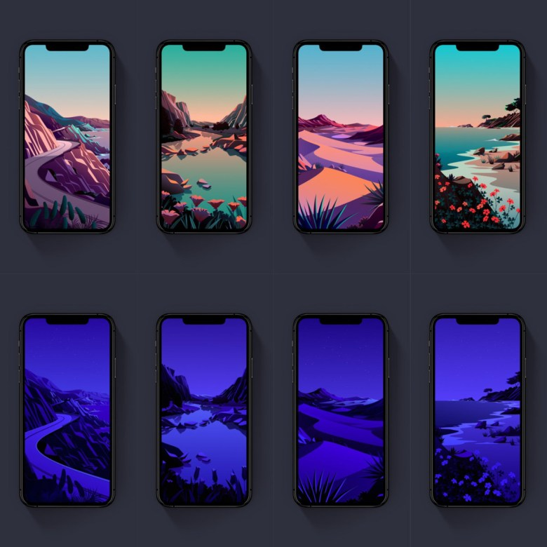 iOS 14.2 wallpapers download