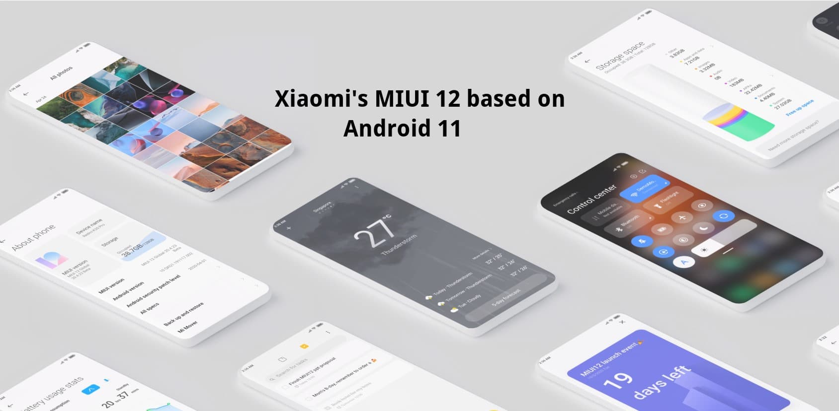 Download MIUI 12 based on Android 11 for Xiaomi devices