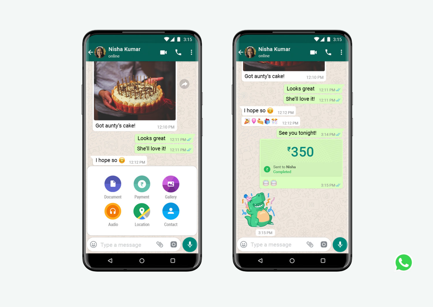 Download latest WhatsApp payment APK