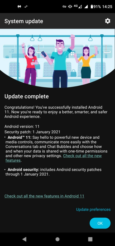 moto g pro android 11 ota update
