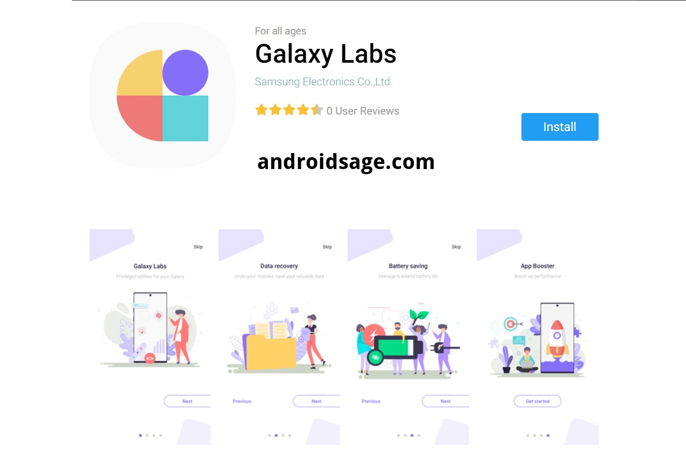 Galaxy Labs - Galaxy Store APK Download