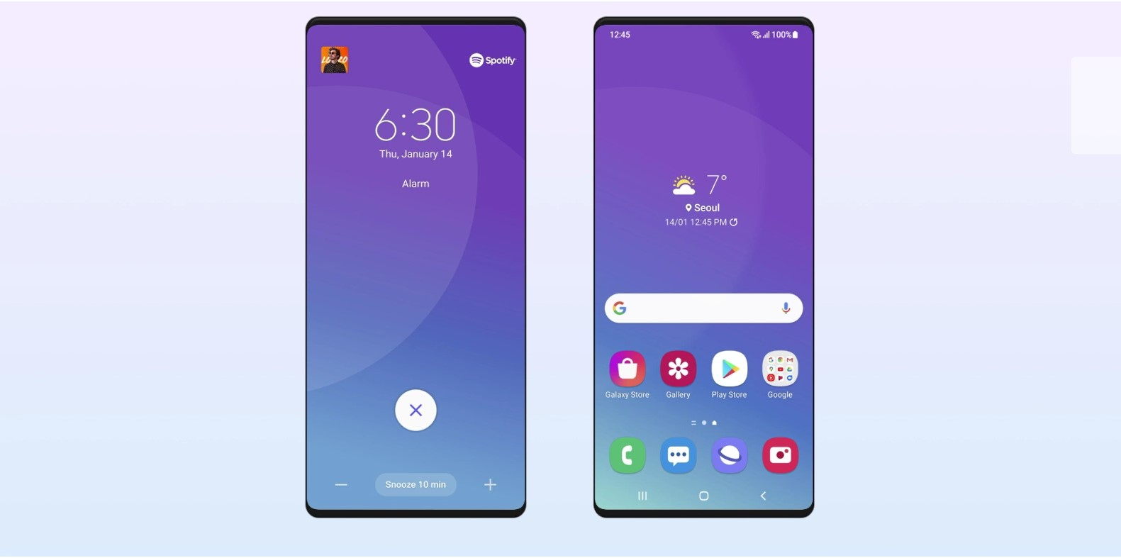 Download Latest One UI Home APK from Samsung's One UI 3.0/3.1 Android 11 Update