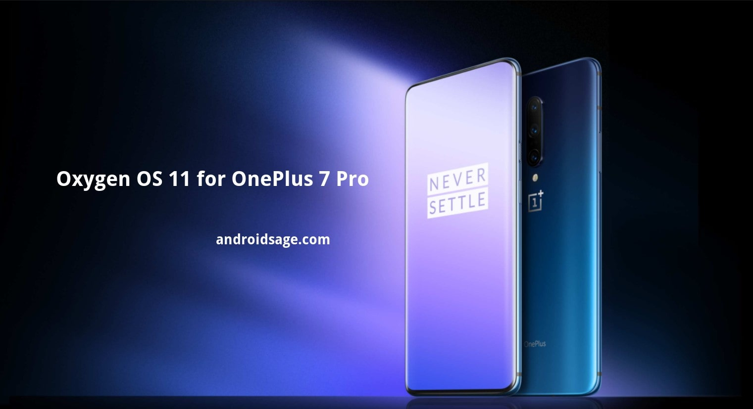 OnePlus 7 Pro Android 11 based on Oxygen OS 11 download