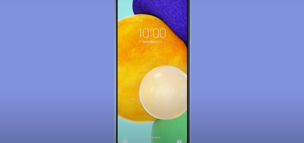 Samsung Galaxy A52 and A72 wallpapers