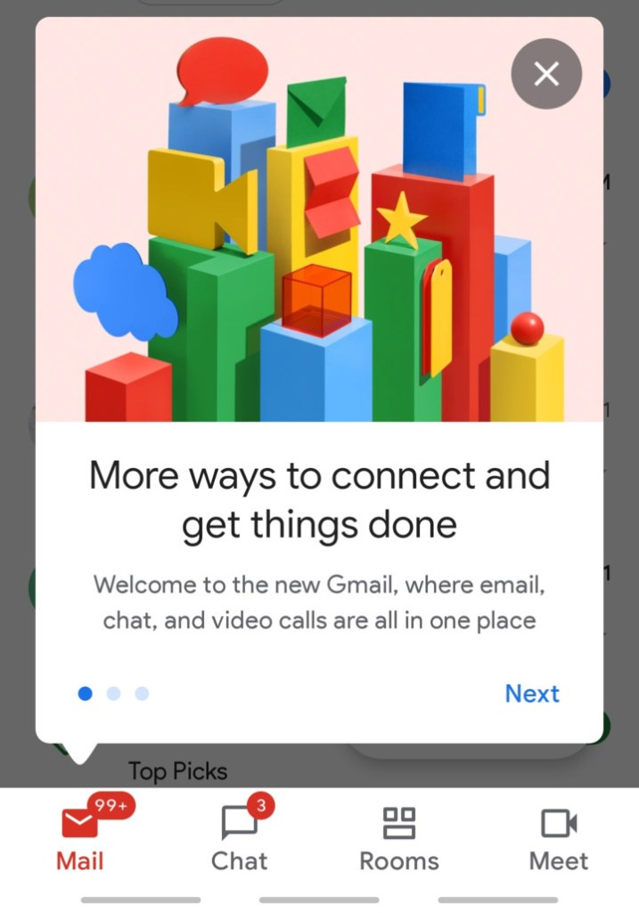 Enable Gmail Chat and Room feature Screenshot (2)