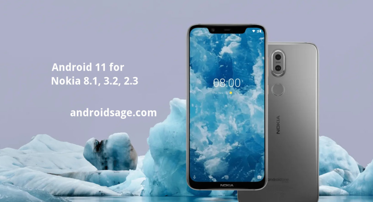 Nokia 8.1 Android 11 OTA update download