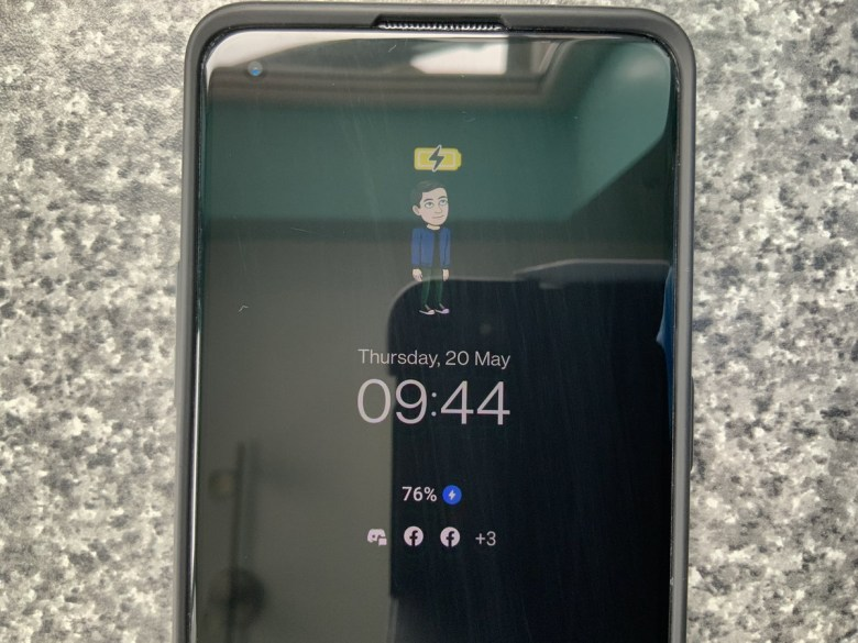 Bitmoji on OnePlus 8T